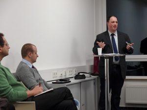 Torsten Ritter referiert zum Thema Steuerrecht für Existenzgründer