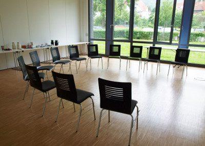 Gruppenraum im Seminar Systemische Praxis